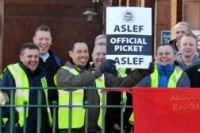 ASLEF CONFERENCE DECLARES SOLIDARITY WITH UKRAINIAN RAILWORKERS