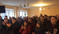 "The court closed the case of the protest of 94 workers of uranium mine ""Ingulska"" without considering"