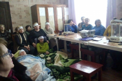 Donetsk region: Four female employees still on hunger strike against wage arrears