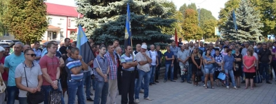 Miners protesting underground in Donetsk region