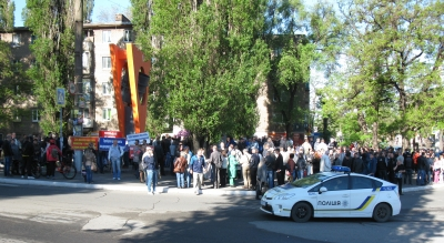 Workers' protests continue in Kryvyi Rih