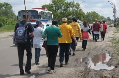 Лікарі з Ромен ідуть на Київ