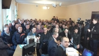 "The second court hearings on the case of the protest of 94 miners from mine ""Ingulska"" has started"