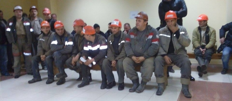 Miners from the mine №10 'Novovolynska' are still on a hunger strike